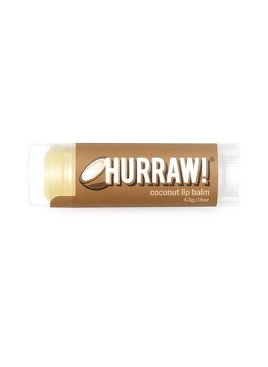 Hurraw Hurraw Hindistan Cevizi Özlü Dudak Balmı 4.8 Gr Renksiz